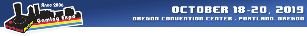 Portland Retro Gaming Expo - Classic Video Game Convention